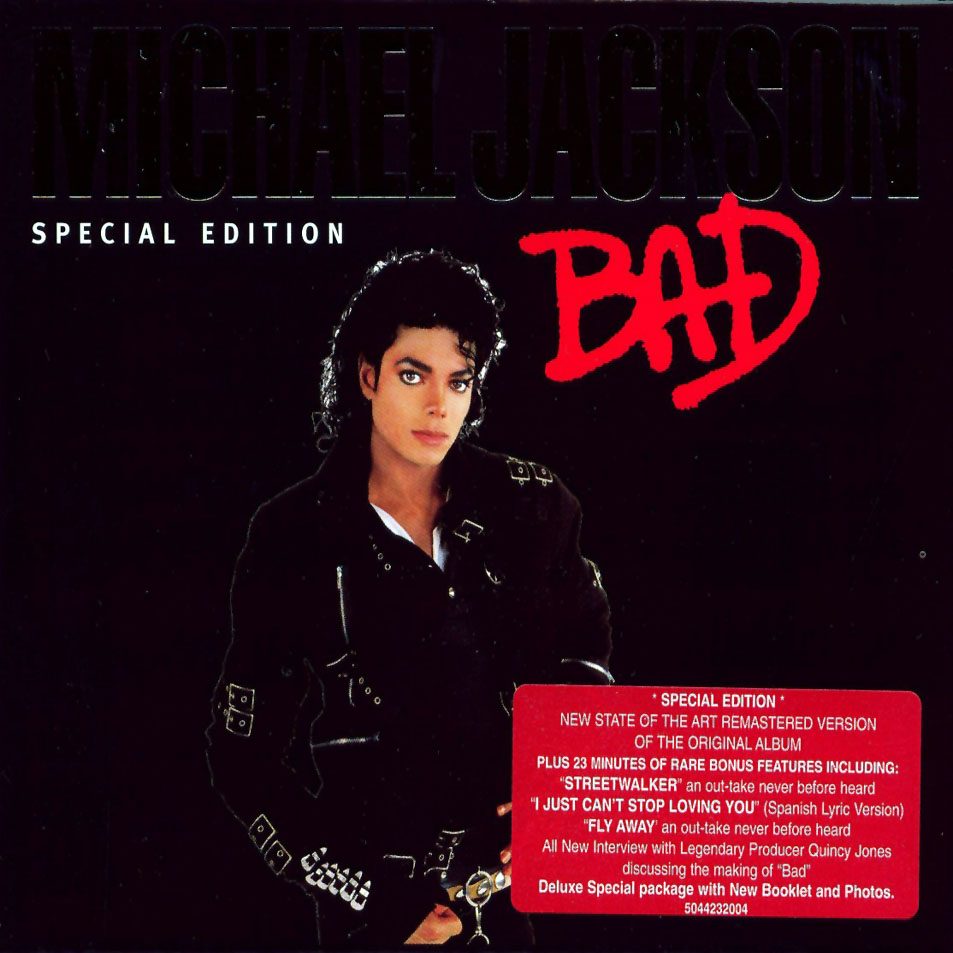 Трек лист bad special edition 2001 michael jackson bad michael