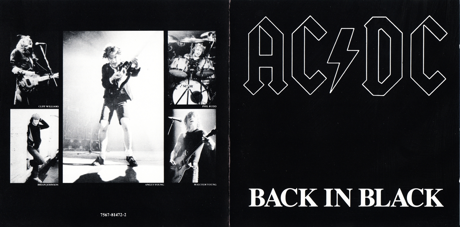 Tracklist back in black 1980 ac dc hells bells ac